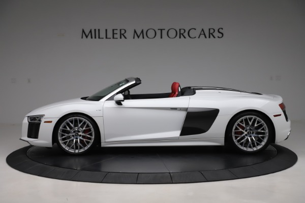 Used 2017 Audi R8 5.2 quattro V10 Spyder for sale $138,900 at Pagani of Greenwich in Greenwich CT 06830 3