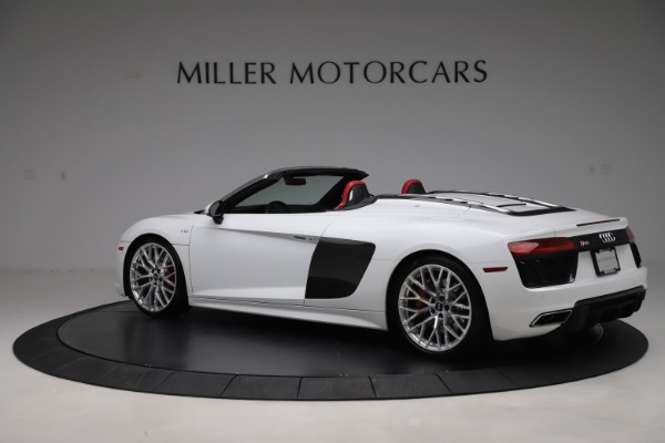 Used 2017 Audi R8 5.2 quattro V10 Spyder for sale $138,900 at Pagani of Greenwich in Greenwich CT 06830 4