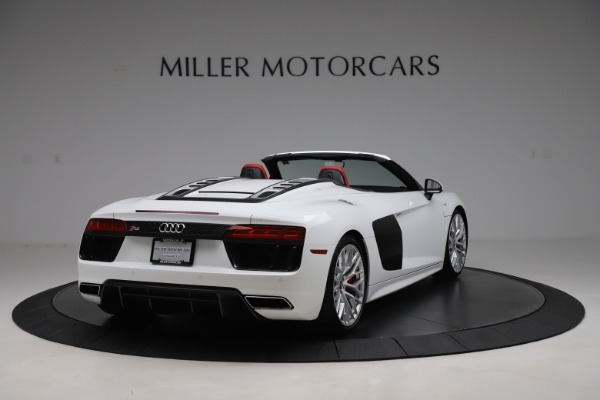 Used 2017 Audi R8 5.2 quattro V10 Spyder for sale $138,900 at Pagani of Greenwich in Greenwich CT 06830 7
