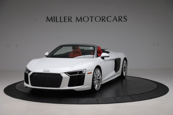 Used 2017 Audi R8 5.2 quattro V10 Spyder for sale $138,900 at Pagani of Greenwich in Greenwich CT 06830 1