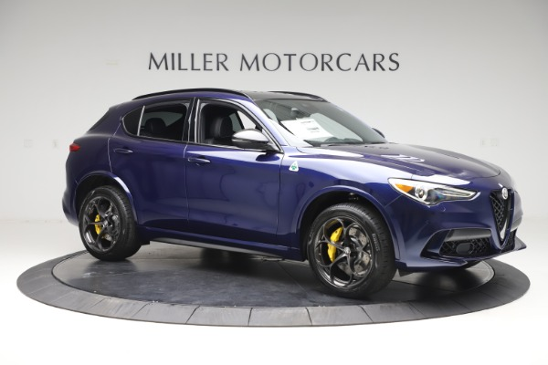 New 2020 Alfa Romeo Stelvio Quadrifoglio for sale $88,845 at Pagani of Greenwich in Greenwich CT 06830 10