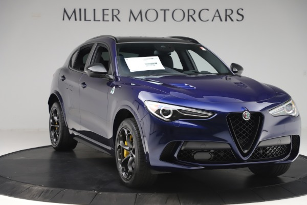 New 2020 Alfa Romeo Stelvio Quadrifoglio for sale $88,845 at Pagani of Greenwich in Greenwich CT 06830 11