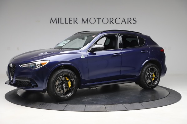 New 2020 Alfa Romeo Stelvio Quadrifoglio for sale $88,845 at Pagani of Greenwich in Greenwich CT 06830 2