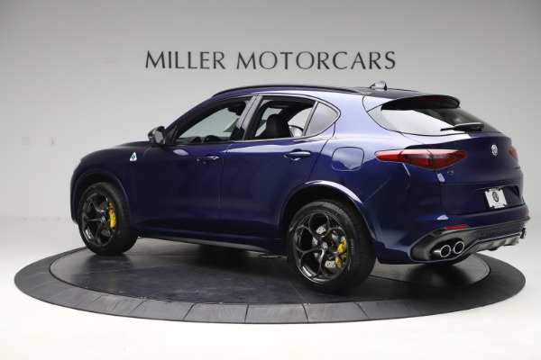 New 2020 Alfa Romeo Stelvio Quadrifoglio for sale $88,845 at Pagani of Greenwich in Greenwich CT 06830 4