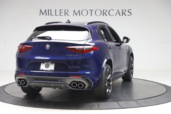 New 2020 Alfa Romeo Stelvio Quadrifoglio for sale Sold at Pagani of Greenwich in Greenwich CT 06830 7
