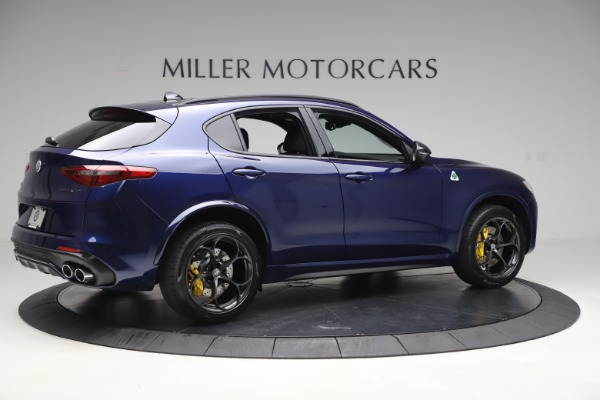 New 2020 Alfa Romeo Stelvio Quadrifoglio for sale $88,845 at Pagani of Greenwich in Greenwich CT 06830 8