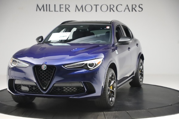 New 2020 Alfa Romeo Stelvio Quadrifoglio for sale $88,845 at Pagani of Greenwich in Greenwich CT 06830 1