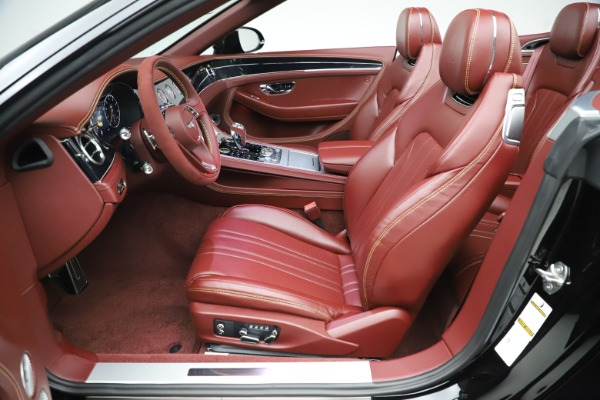 New 2020 Bentley Continental GTC Number 1 Edition for sale Sold at Pagani of Greenwich in Greenwich CT 06830 27
