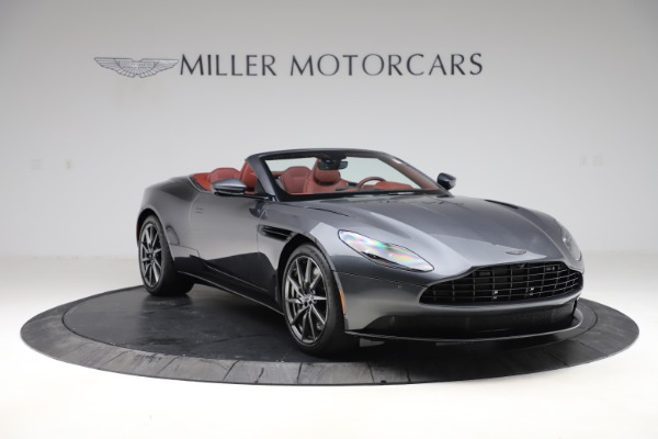 New 2020 Aston Martin DB11 Volante Convertible for sale $263,681 at Pagani of Greenwich in Greenwich CT 06830 12