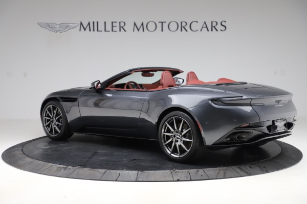New 2020 Aston Martin DB11 Volante Convertible for sale $263,681 at Pagani of Greenwich in Greenwich CT 06830 5