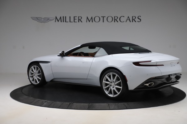 New 2020 Aston Martin DB11 Volante Convertible for sale $244,066 at Pagani of Greenwich in Greenwich CT 06830 24