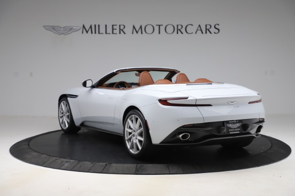 New 2020 Aston Martin DB11 Volante Convertible for sale $244,066 at Pagani of Greenwich in Greenwich CT 06830 6
