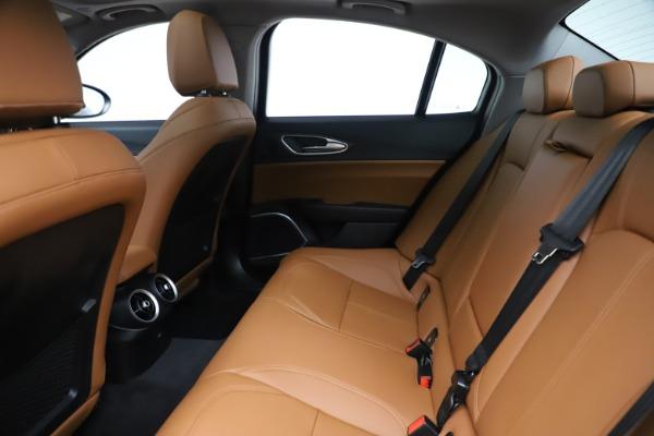 New 2020 Alfa Romeo Giulia Ti Q4 for sale $51,145 at Pagani of Greenwich in Greenwich CT 06830 19