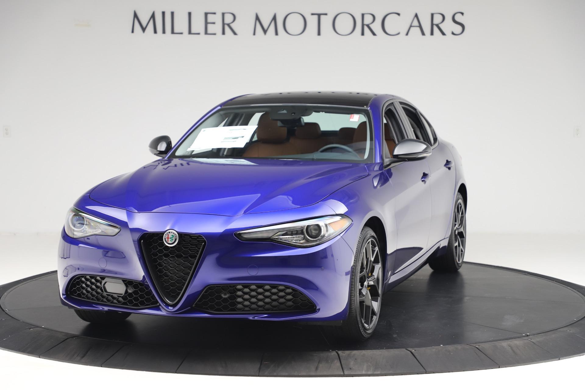 New 2020 Alfa Romeo Giulia Ti Q4 for sale $51,145 at Pagani of Greenwich in Greenwich CT 06830 1