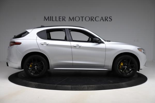 New 2020 Alfa Romeo Stelvio Ti Sport Q4 for sale $55,345 at Pagani of Greenwich in Greenwich CT 06830 9
