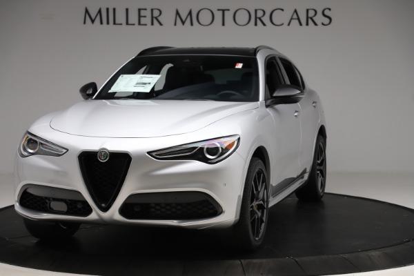 New 2020 Alfa Romeo Stelvio Ti Sport Q4 for sale $55,345 at Pagani of Greenwich in Greenwich CT 06830 1