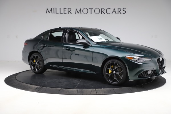 New 2020 Alfa Romeo Giulia Ti Q4 for sale $48,545 at Pagani of Greenwich in Greenwich CT 06830 10