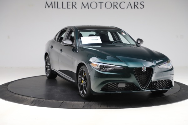 New 2020 Alfa Romeo Giulia Ti Q4 for sale $48,545 at Pagani of Greenwich in Greenwich CT 06830 11