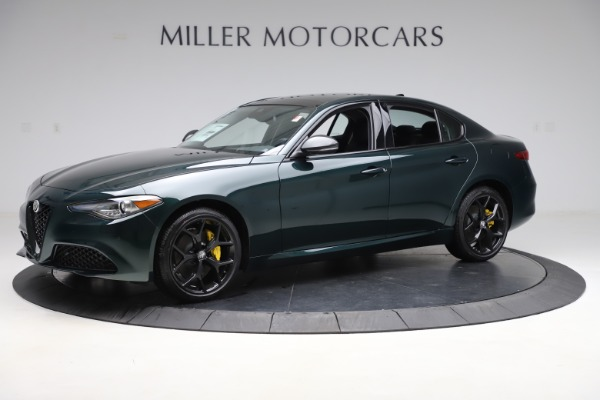 New 2020 Alfa Romeo Giulia Ti Q4 for sale $48,545 at Pagani of Greenwich in Greenwich CT 06830 2