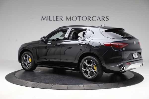 New 2020 Alfa Romeo Stelvio Sport Q4 for sale $49,695 at Pagani of Greenwich in Greenwich CT 06830 4