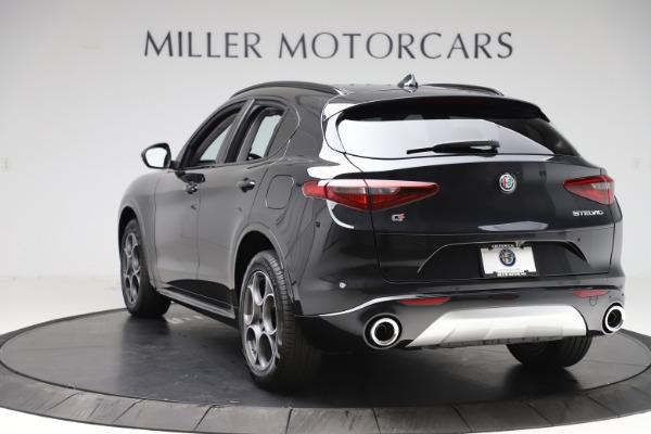 New 2020 Alfa Romeo Stelvio Sport Q4 for sale $49,695 at Pagani of Greenwich in Greenwich CT 06830 5
