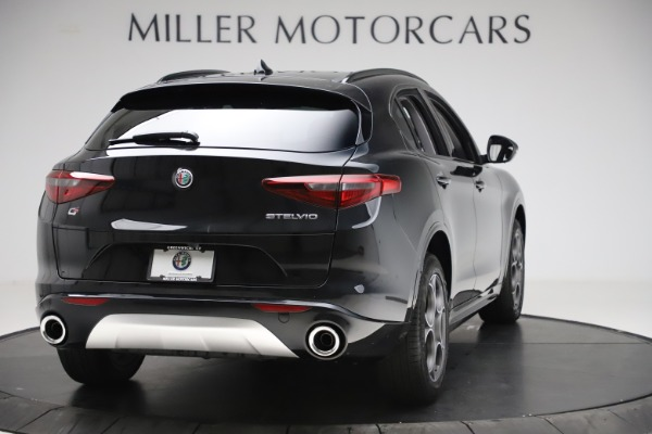 New 2020 Alfa Romeo Stelvio Sport Q4 for sale Sold at Pagani of Greenwich in Greenwich CT 06830 7