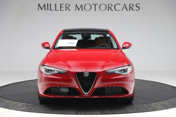 New 2020 Alfa Romeo Giulia Q4 for sale $46,395 at Pagani of Greenwich in Greenwich CT 06830 12