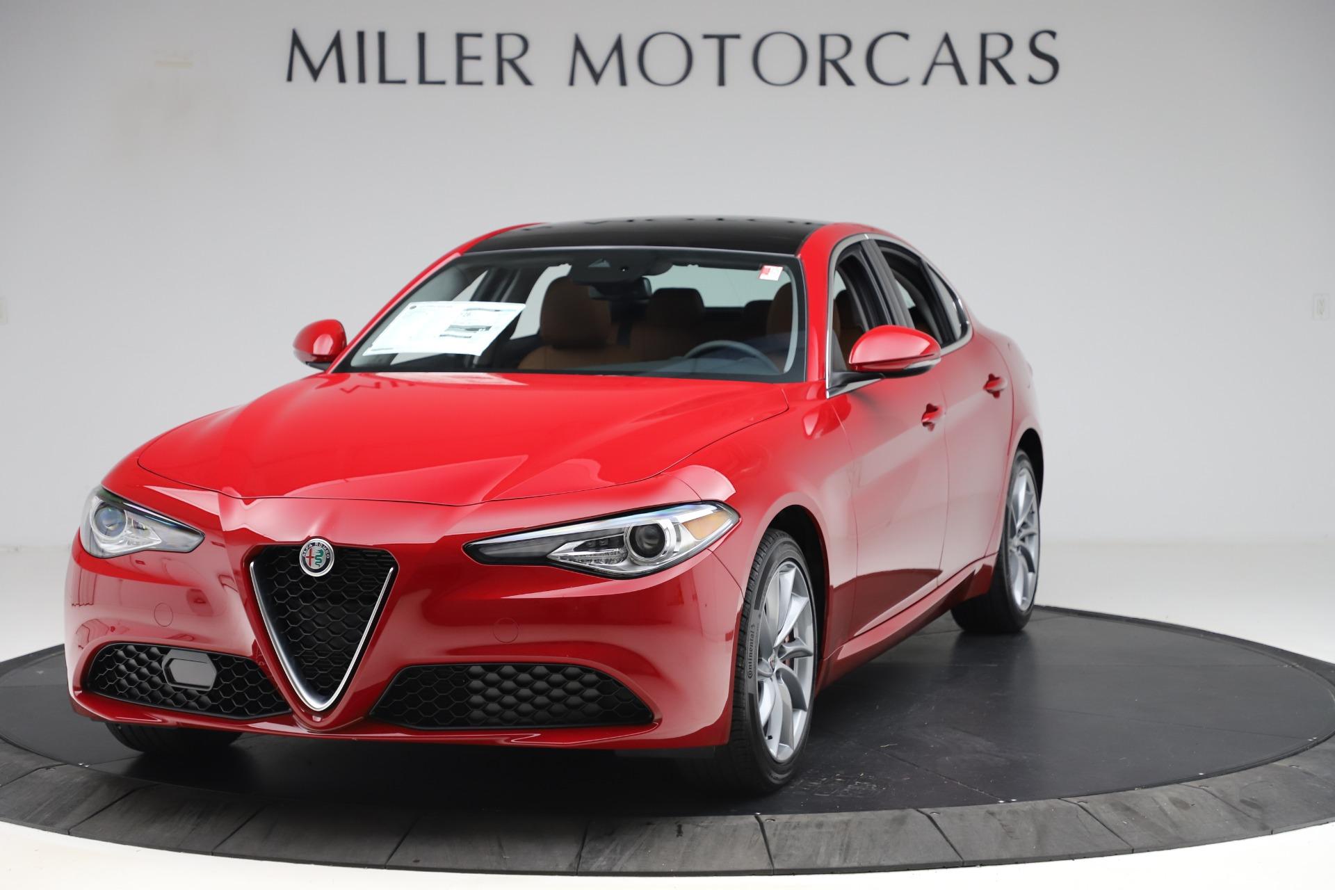 New 2020 Alfa Romeo Giulia Q4 for sale $46,395 at Pagani of Greenwich in Greenwich CT 06830 1
