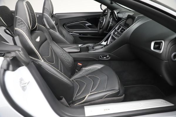 New 2020 Aston Martin DBS Superleggera Volante Convertible for sale $353,931 at Pagani of Greenwich in Greenwich CT 06830 18