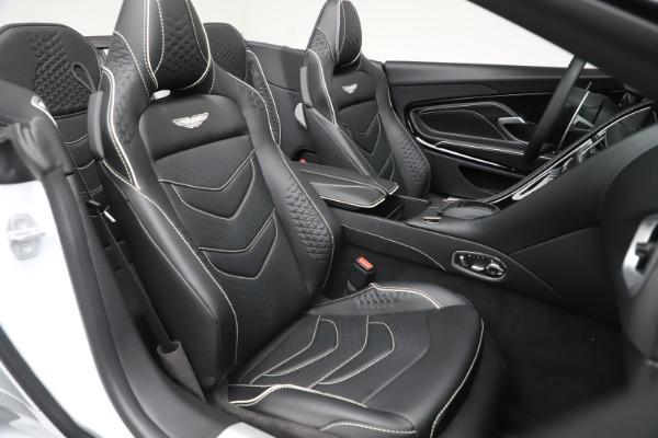 New 2020 Aston Martin DBS Superleggera Volante Convertible for sale $353,931 at Pagani of Greenwich in Greenwich CT 06830 19