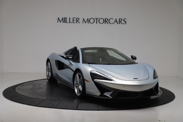 New 2020 McLaren 570S Spider Convertible for sale $256,990 at Pagani of Greenwich in Greenwich CT 06830 10