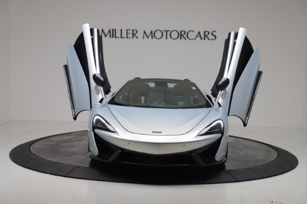 New 2020 McLaren 570S Spider Convertible for sale $256,990 at Pagani of Greenwich in Greenwich CT 06830 12