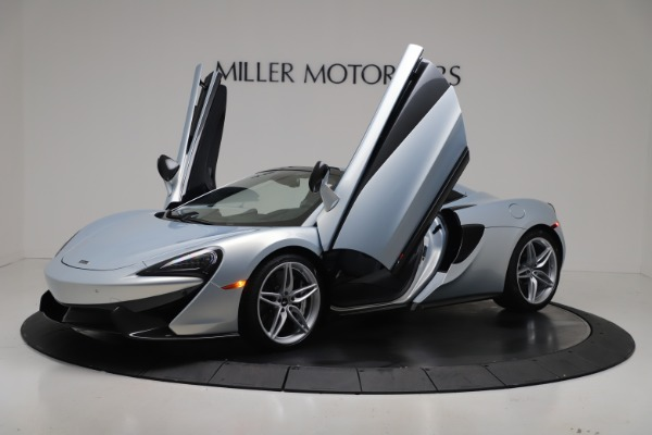 New 2020 McLaren 570S Spider Convertible for sale $256,990 at Pagani of Greenwich in Greenwich CT 06830 13