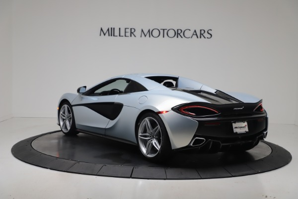 New 2020 McLaren 570S Spider Convertible for sale $256,990 at Pagani of Greenwich in Greenwich CT 06830 17