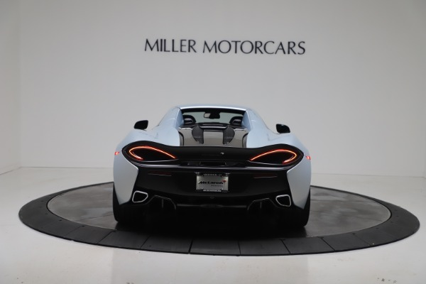 New 2020 McLaren 570S Spider Convertible for sale $256,990 at Pagani of Greenwich in Greenwich CT 06830 18
