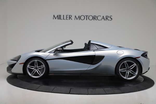 New 2020 McLaren 570S Spider Convertible for sale $256,990 at Pagani of Greenwich in Greenwich CT 06830 2