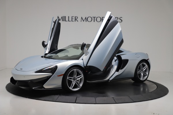 New 2020 McLaren 570S Spider Convertible for sale Sold at Pagani of Greenwich in Greenwich CT 06830 24