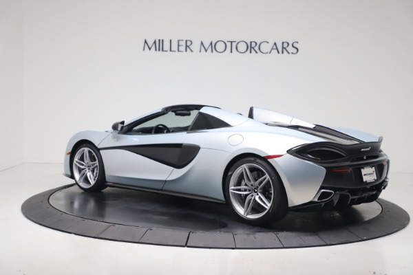 New 2020 McLaren 570S Spider Convertible for sale $256,990 at Pagani of Greenwich in Greenwich CT 06830 3