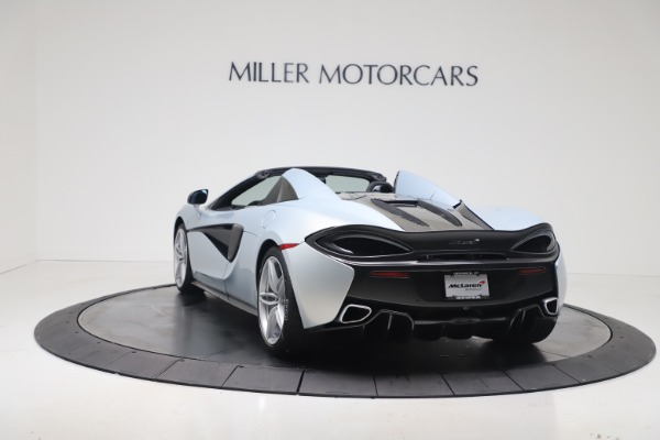 New 2020 McLaren 570S Spider Convertible for sale Sold at Pagani of Greenwich in Greenwich CT 06830 4