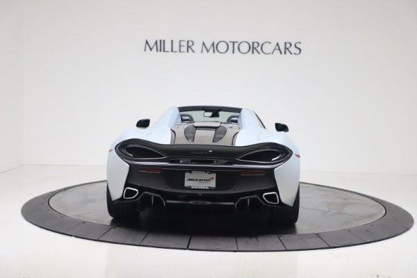 New 2020 McLaren 570S Spider Convertible for sale $256,990 at Pagani of Greenwich in Greenwich CT 06830 5