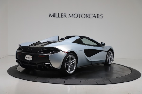 New 2020 McLaren 570S Spider Convertible for sale $256,990 at Pagani of Greenwich in Greenwich CT 06830 6