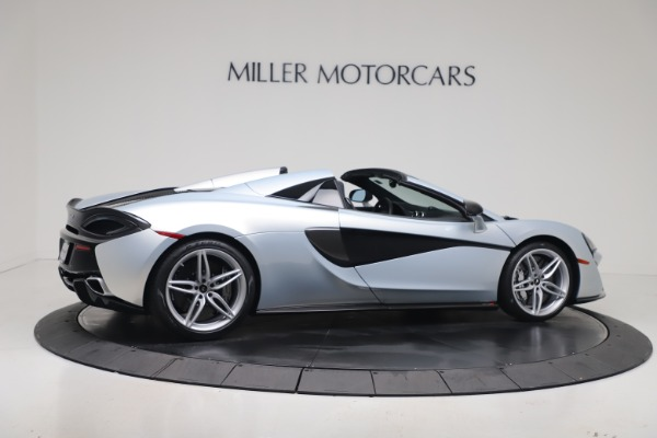 New 2020 McLaren 570S Spider Convertible for sale $256,990 at Pagani of Greenwich in Greenwich CT 06830 7