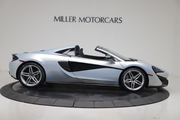 New 2020 McLaren 570S Spider Convertible for sale $256,990 at Pagani of Greenwich in Greenwich CT 06830 8