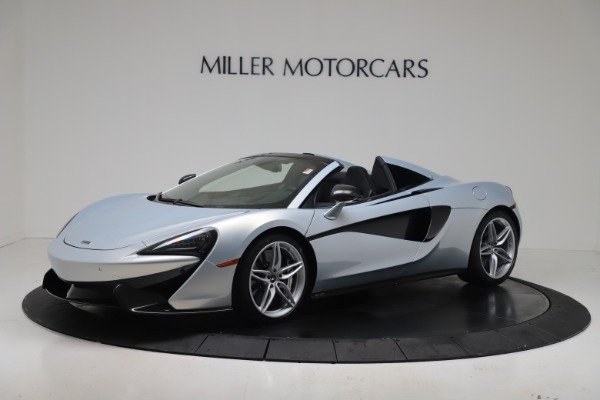 New 2020 McLaren 570S Spider Convertible for sale $256,990 at Pagani of Greenwich in Greenwich CT 06830 1