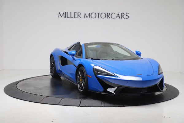 New 2020 McLaren 570S Spider Convertible for sale Sold at Pagani of Greenwich in Greenwich CT 06830 10