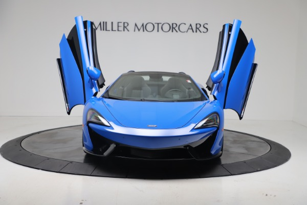 New 2020 McLaren 570S Spider Convertible for sale Sold at Pagani of Greenwich in Greenwich CT 06830 12
