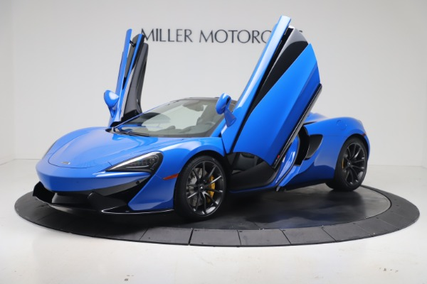 New 2020 McLaren 570S Spider Convertible for sale $236,270 at Pagani of Greenwich in Greenwich CT 06830 13