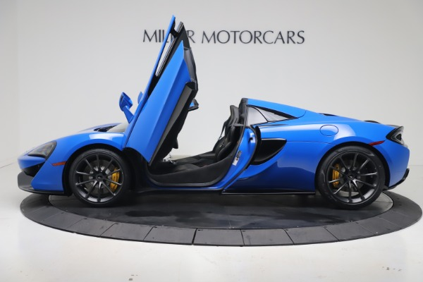 New 2020 McLaren 570S Spider Convertible for sale $236,270 at Pagani of Greenwich in Greenwich CT 06830 14