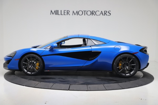 New 2020 McLaren 570S Spider Convertible for sale $236,270 at Pagani of Greenwich in Greenwich CT 06830 16