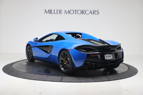 New 2020 McLaren 570S Spider Convertible for sale $236,270 at Pagani of Greenwich in Greenwich CT 06830 17